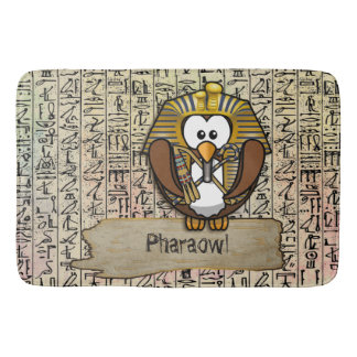 Pharaowl bathmat
