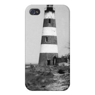 Phare d'île de Sapelo Étui iPhone 4