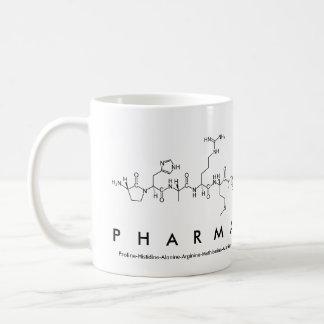Pharma peptide word mug