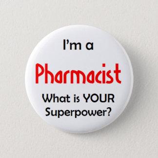 pharmacist 2 inch round button