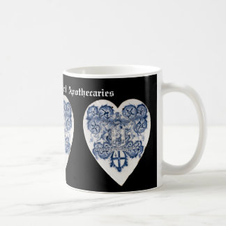 Pharmacist / Apothecary Coat of Arms Pill Tile mug
