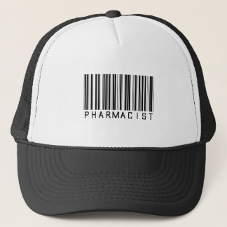 Pharmacist Bar Code Trucker Hat