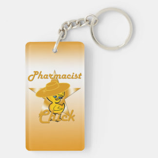 Pharmacist Chick #10 Keychain