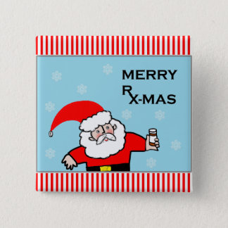 pharmacist Christmas gifts 2 Inch Square Button
