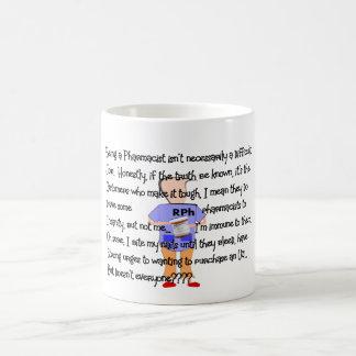 "Pharmacist Gifts ""Brink of Insanity"" Story Art Mug"