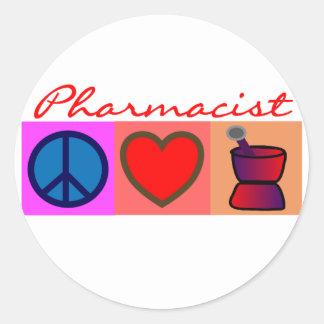 Pharmacist Gifts Round Sticker
