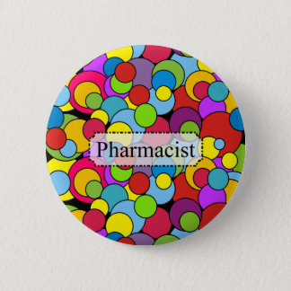 Pharmacist Gifts Whimsical Bubbles 2 Inch Round Button