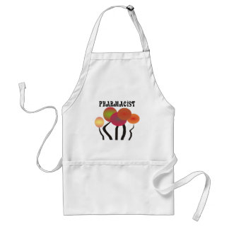 Pharmacist Gifts  Whimsical Trees Design Standard Apron