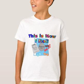 Pharmacist HOW I ROLL  Unique Graphics T-Shirt