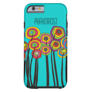 Pharmacist iPhone 6 case Whimsical Trees
