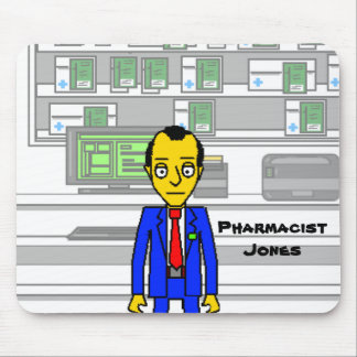 Pharmacist Jones Mousepad