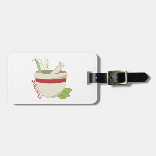 Pharmacist Luggage Tag