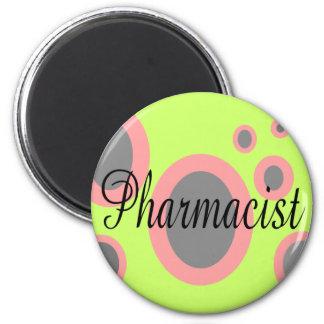Pharmacist Magnet Retro Design