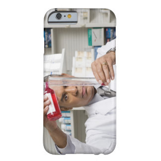 Pharmacist measuring out liquid medicine barely there iPhone 6 case