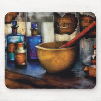 Pharmacist - Mortar and Pestle Mouse Pad