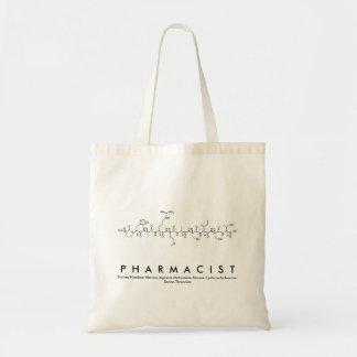 Pharmacist peptide name bag
