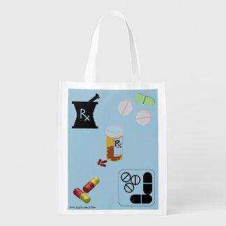 Pharmacist Pharmacy Grocery Tote Grocery Bags