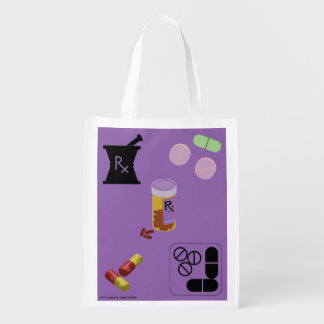 Pharmacist Pharmacy Grocery Tote Reusable Grocery Bag
