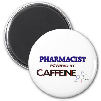 Pharmacist Powered by caffeine Magnet