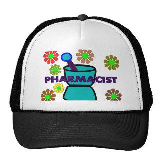 """Pharmacist""  Retro Flowers T-Shirts & Gifts Trucker Hat"