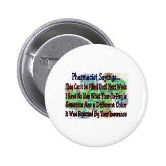 """Pharmacist sayings """"You Know You're Pharmacist IF"""" 2 Inch Round Button"""