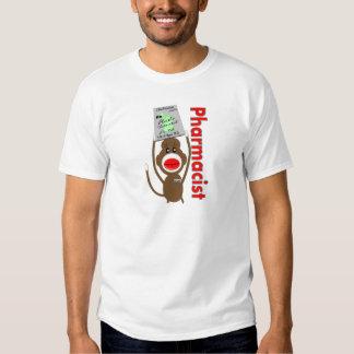 Pharmacist Sock Monkey T-Shirt