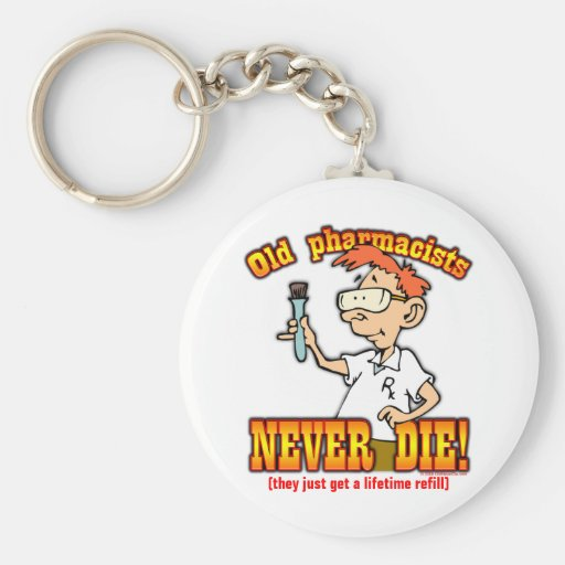 Pharmacists Key Chain