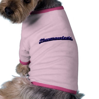 Pharmacologist Classic Job Design Pet Clothing