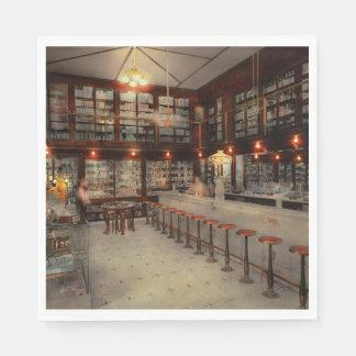 Pharmacy - Bertrams ghosts 1909 Paper Napkin