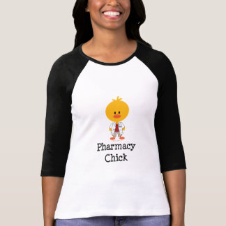 Pharmacy Chick Raglan Shirt