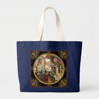 Pharmacy - Collins Pharmacy 1915 Large Tote Bag