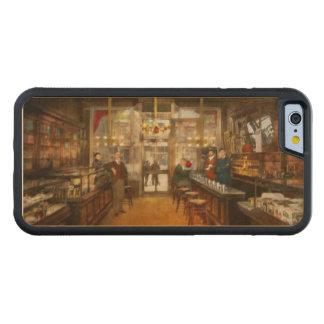 Pharmacy - Congdon's Pharmacy 1910 Carved Maple iPhone 6 Bumper Case