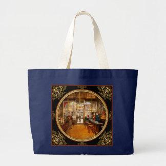 Pharmacy - Congdon's Pharmacy 1910 Large Tote Bag