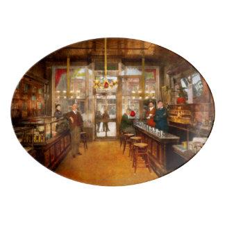 Pharmacy - Congdon's Pharmacy 1910 Porcelain Serving Platter