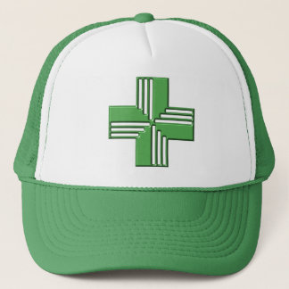 Pharmacy Cross Trucker Hat