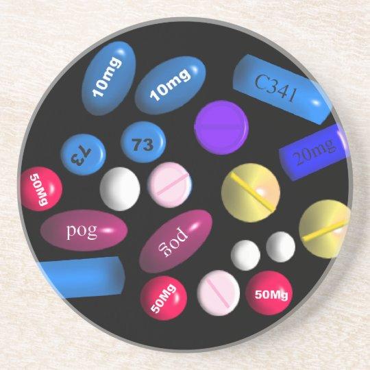 Pharmacy Drink Coasters
