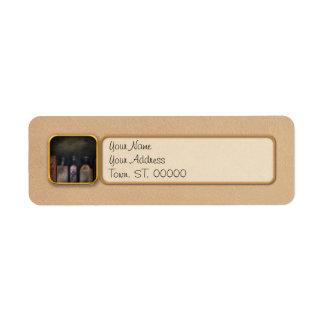 Pharmacy - Feel good medicine Return Address Label