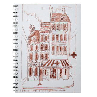 Pharmacy in Old Town | Boulogne-Sur-Mer, France Notebooks