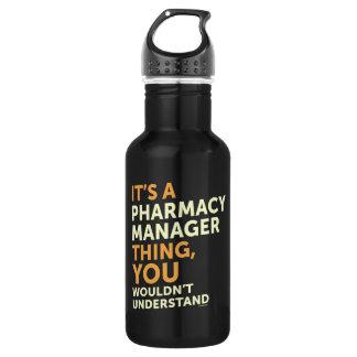 Pharmacy Manager 532 Ml Water Bottle
