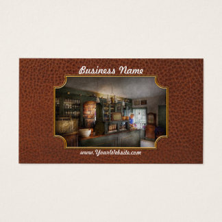 Pharmacy - Morning Preparations Business Card