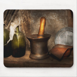 Pharmacy - Pestle - Home remedies Mouse Pad