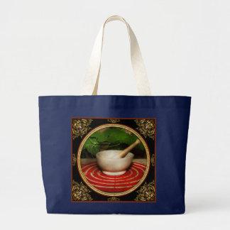 Pharmacy - Pestle - The herbalist Large Tote Bag
