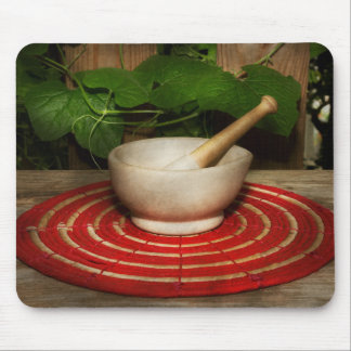 Pharmacy - Pestle - The herbalist Mouse Pad