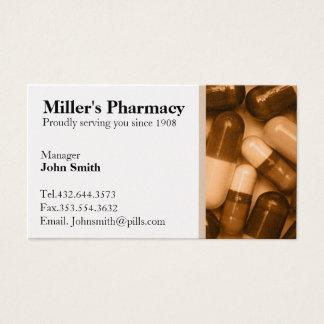 Pharmacy Pharmacist Business Card