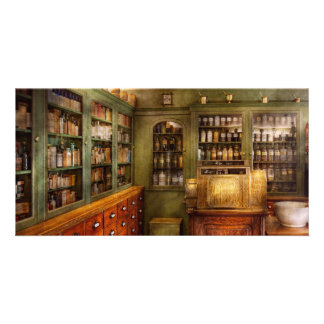 Pharmacy - Room - The dispensary Personalized Photo Card