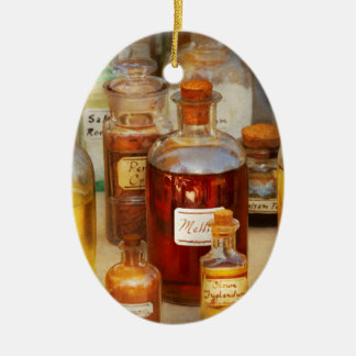 Pharmacy - Serums and Elixirs Ceramic Ornament