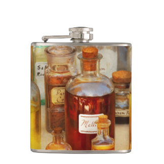 Pharmacy - Serums and Elixirs Hip Flask