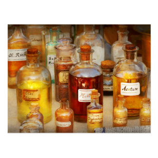 Pharmacy - Serums and Elixirs Postcard