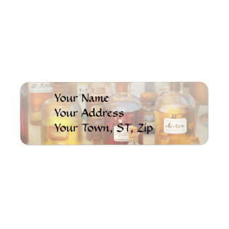 Pharmacy - Serums and Elixirs Return Address Label