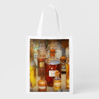 Pharmacy - Serums and Elixirs Reusable Grocery Bag